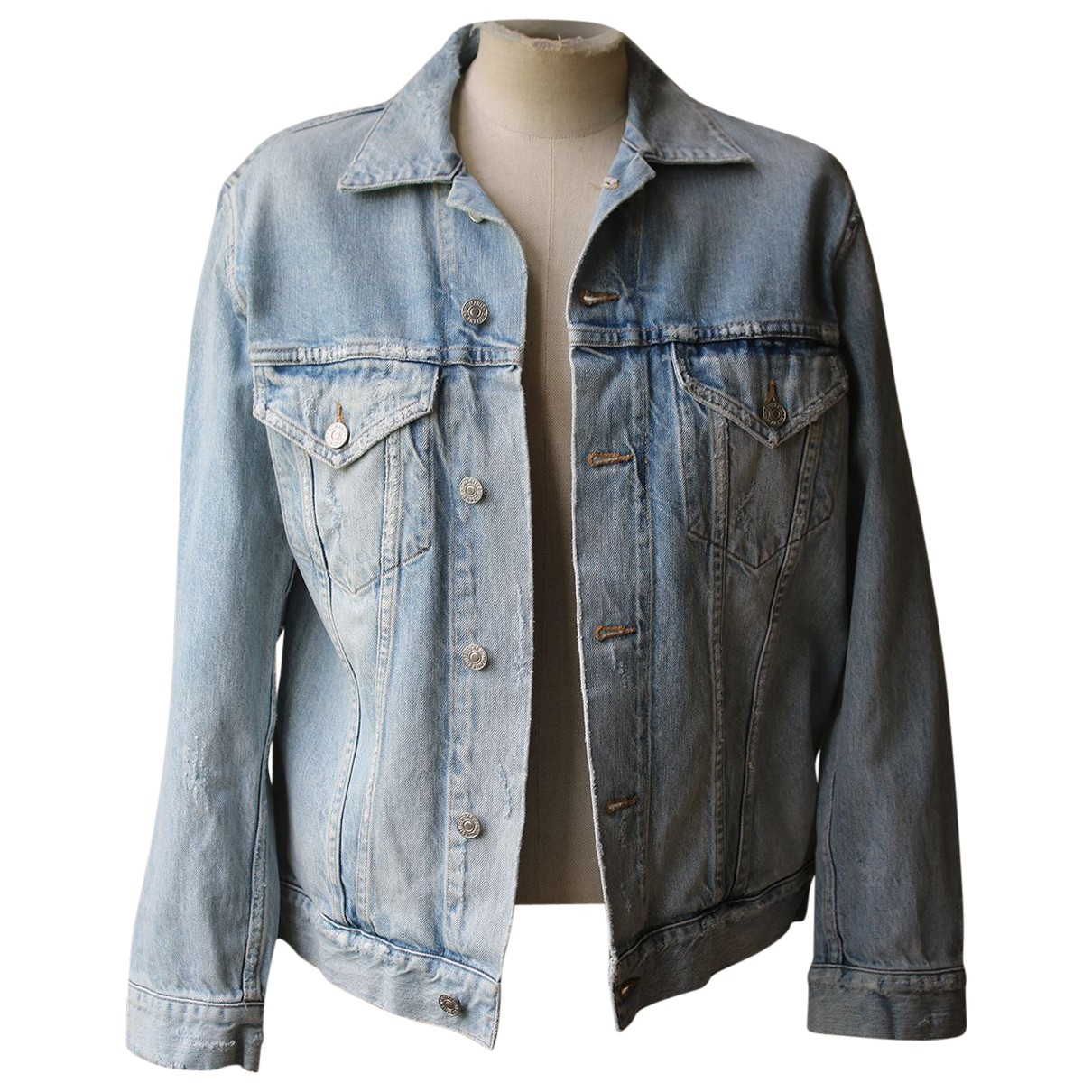 Citizens Of Humanity N Blue Denim - Jeans jacket for Women XS International