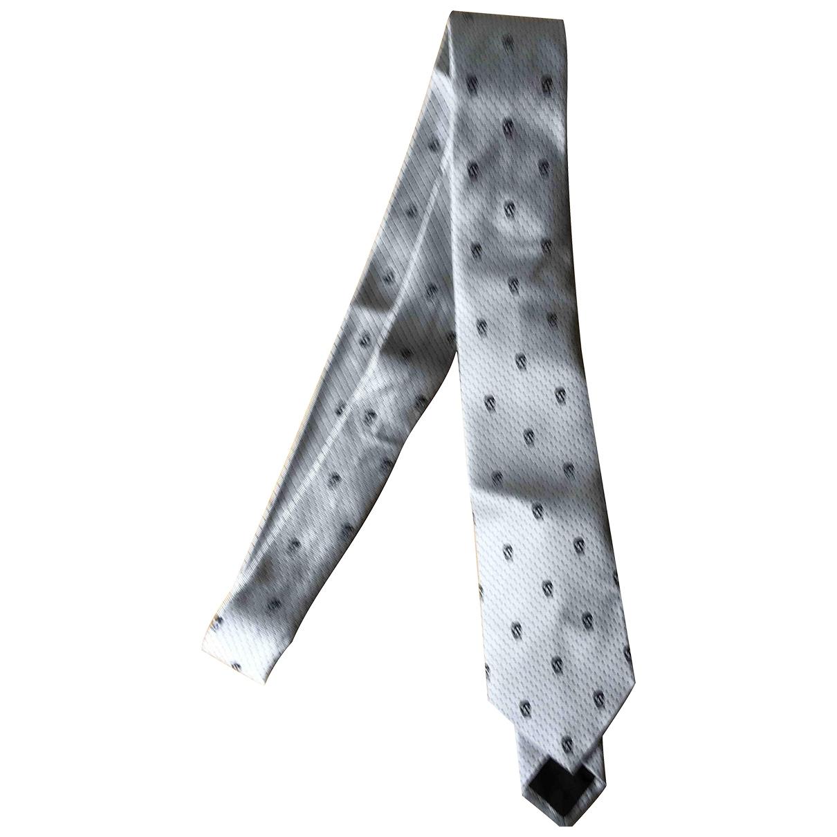 Alexander Mcqueen \N Krawatten in  Weiss Seide
