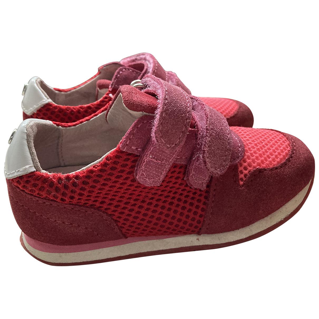 Jacadi - Baskets   pour enfant en suede - rouge