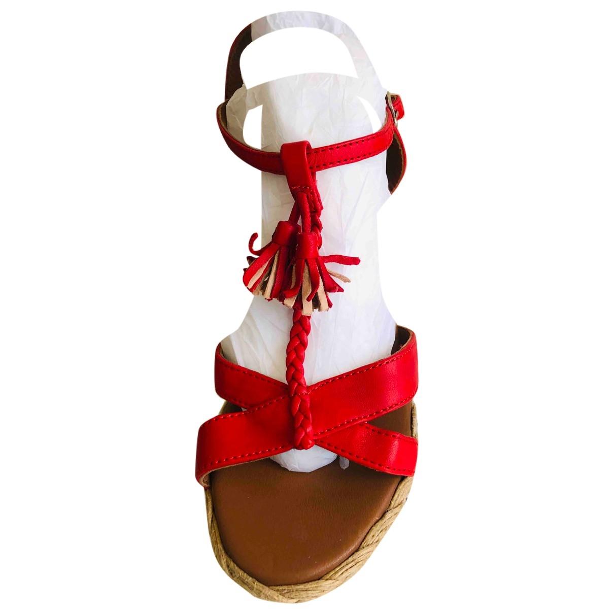 Sandalias de Cuero Petite Mendigote