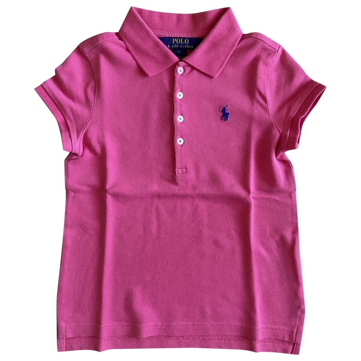 Polo Ralph Lauren \N Pink Cotton  top for Kids 6 years - up to 114cm FR