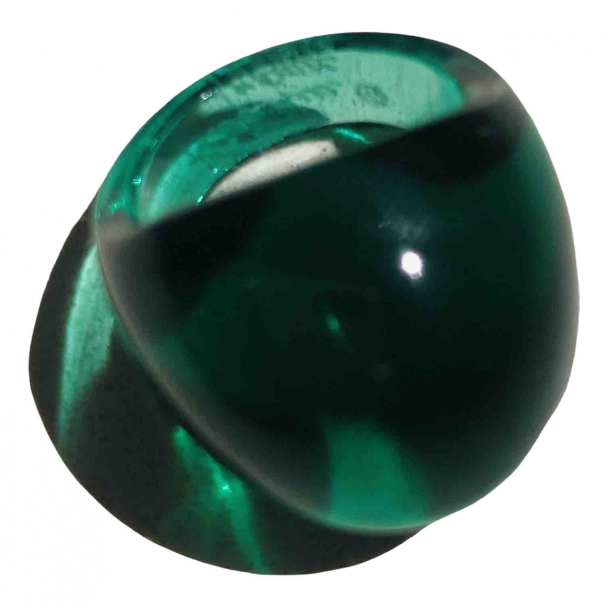 Lalique - Bague   pour femme en verre - vert