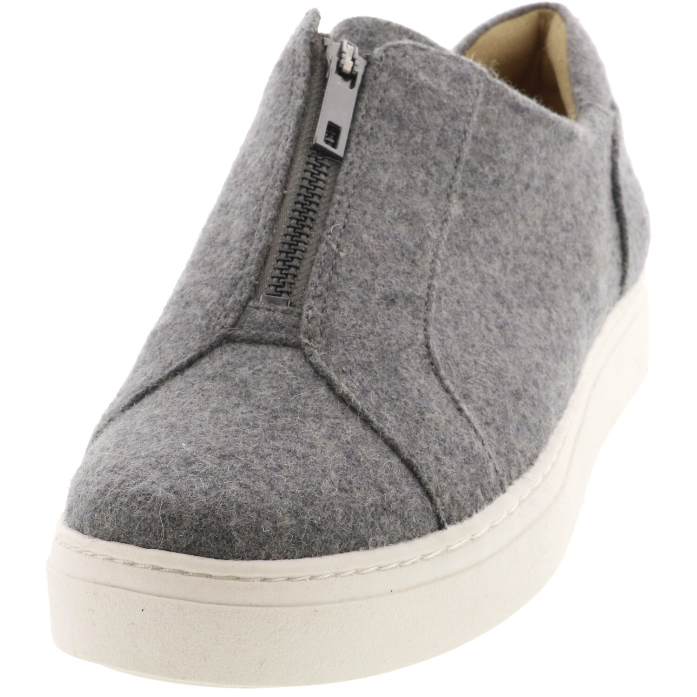 Naturalizer Men's Cyan Flannel Grey Low Top Sneaker - 10.5M