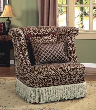 SA9000-C Santiago Fabric Chair in Dark
