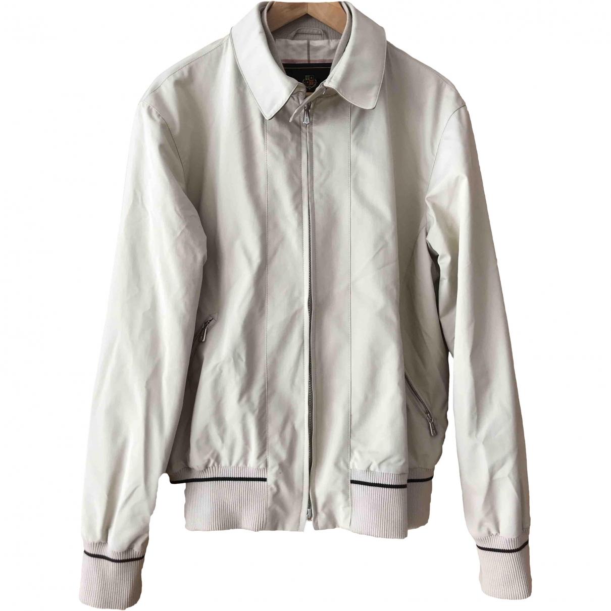 Loro Piana \N Ecru jacket  for Men 40 UK - US