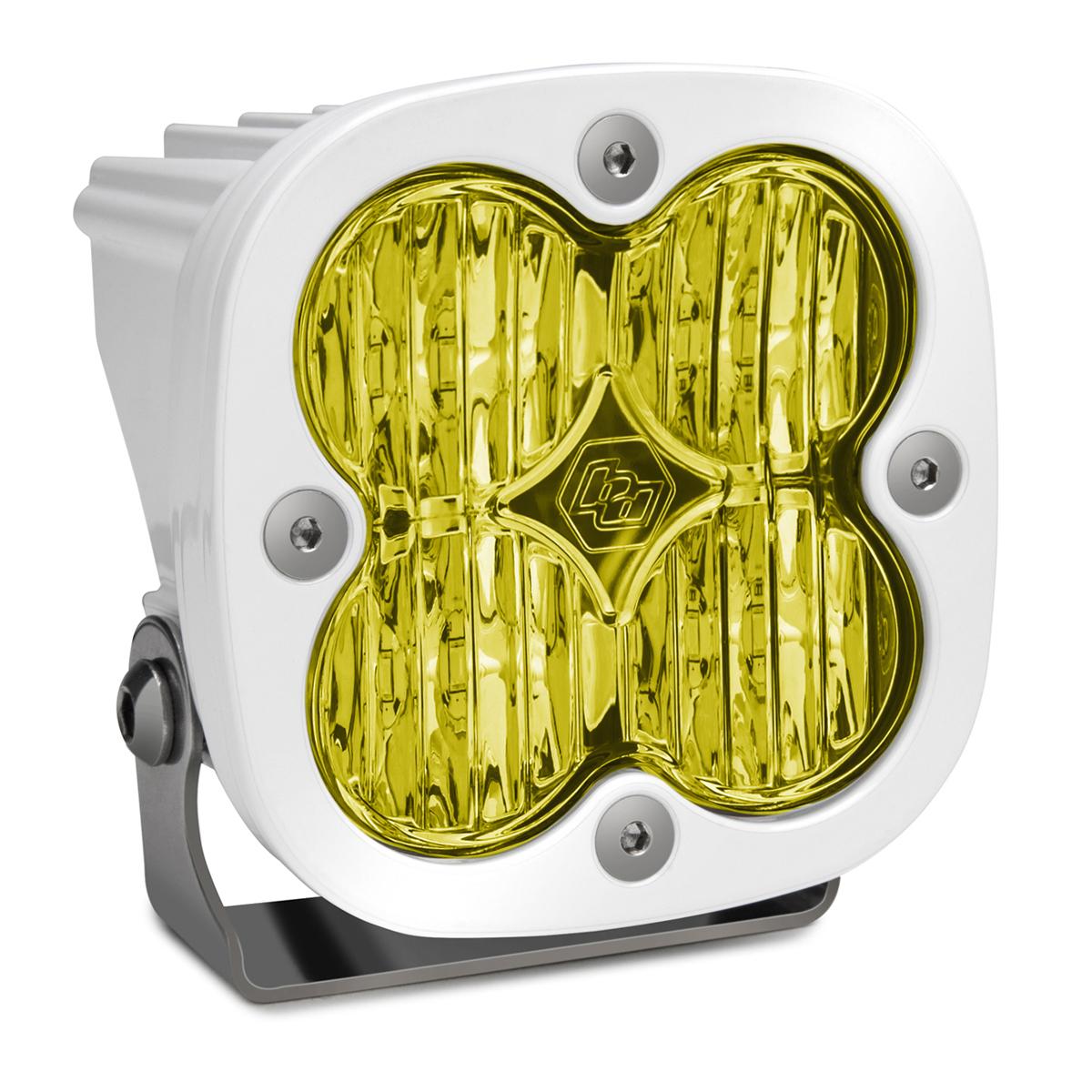 Baja Designs 550015WT LED Light Pod Wide Cornering Pattern Amber White Squadron Sport