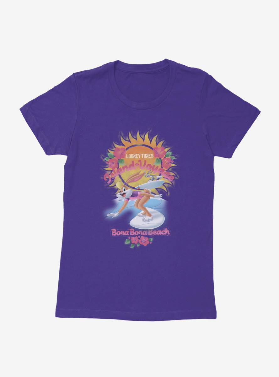 Looney Tunes Lola Bunny Grand Voyage Womens T-Shirt