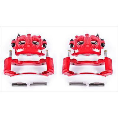 Power Stop Performance Powder Coated Calipers with Brackets - S4652