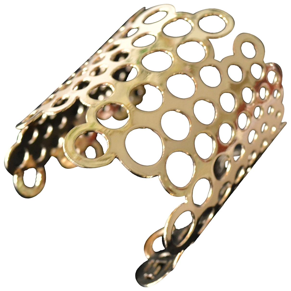 Paco Rabanne - Bracelet   pour femme en metal - dore