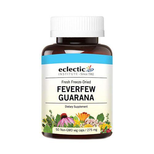 Feverfew  Guarana 50 Caps by Eclectic Institute Inc