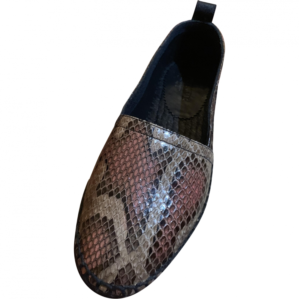 Loewe \N Brown Leather Espadrilles for Women 36 EU