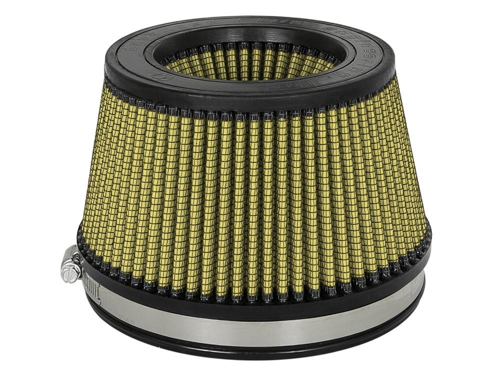 aFe Magnum FLOW Intake Replacement Air Filter w/ Pro GUARD7 Media 6 IN F x 7 IN B x 5-1/2 IN T (Inverted) x 3-7/8 IN H