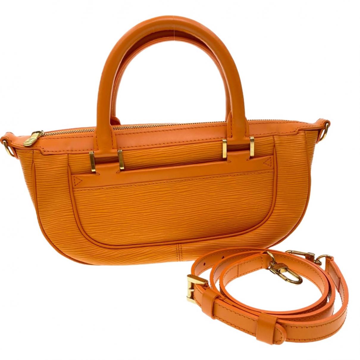 Louis Vuitton Dhanura Handtasche in  Orange Leder