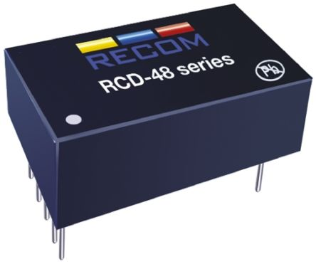 Recom RCD-48-0.70 LED Driver IC, 9  60 V dc 0  700mA 7-Pin PDIP