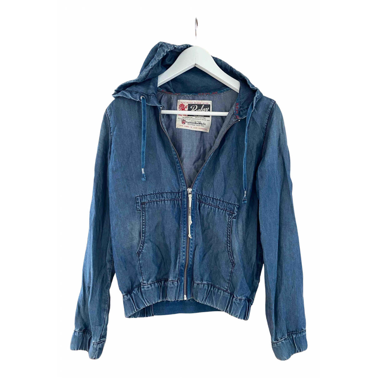 Replay N Blue Denim - Jeans jacket for Women XS International