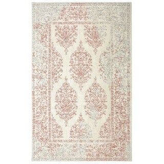 Mohawk Home Ber Paxton Woven Area Rug (Pink/Cream 10' x 14')