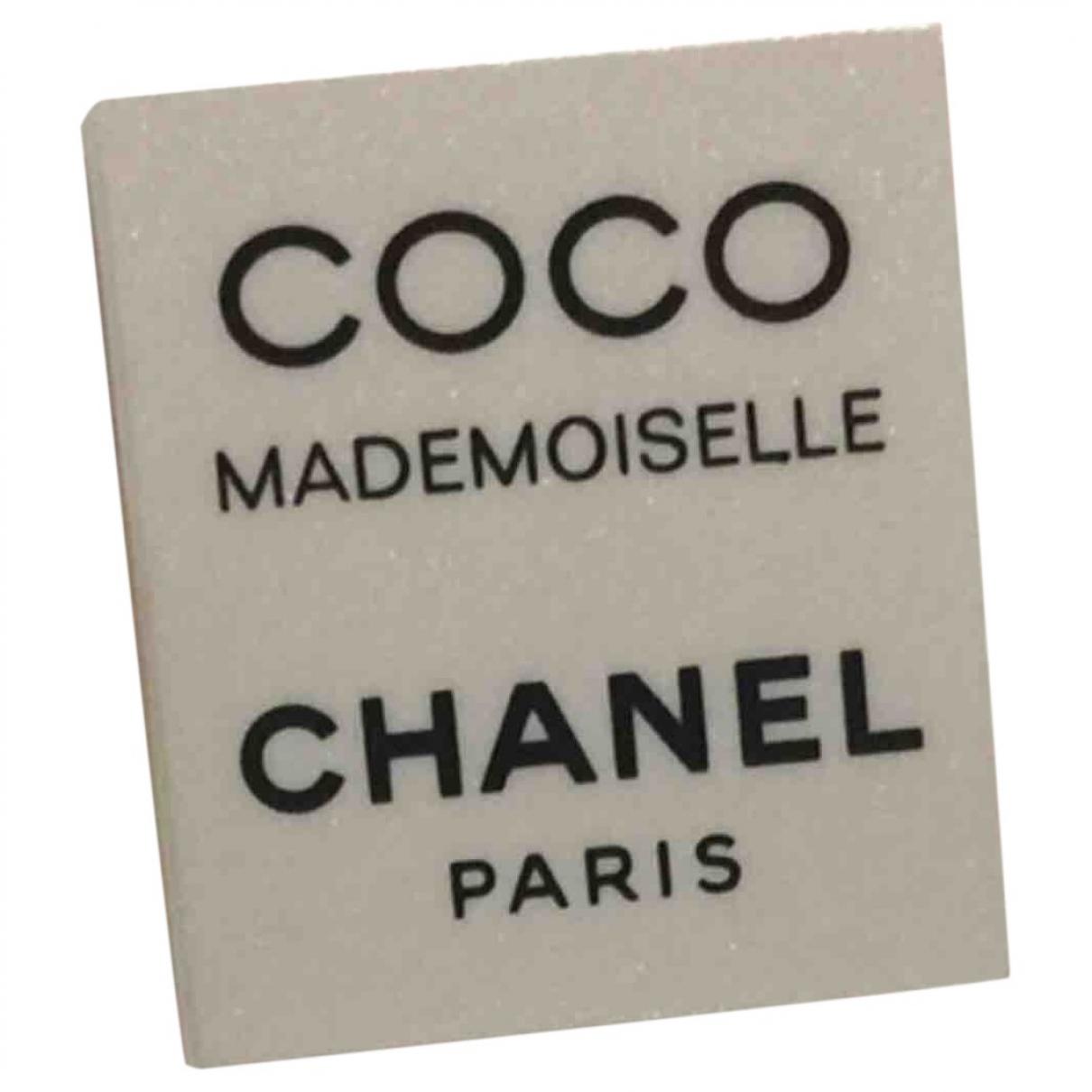 Broche CHANEL en Metal Blanco Chanel