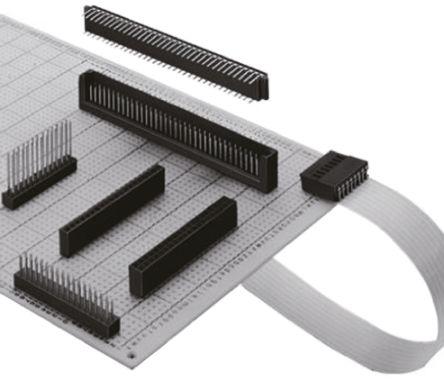 Hirose , HIF3H 2.54mm Pitch 26 Way 2 Row Straight PCB Socket, Through Hole, Solder Termination (5)