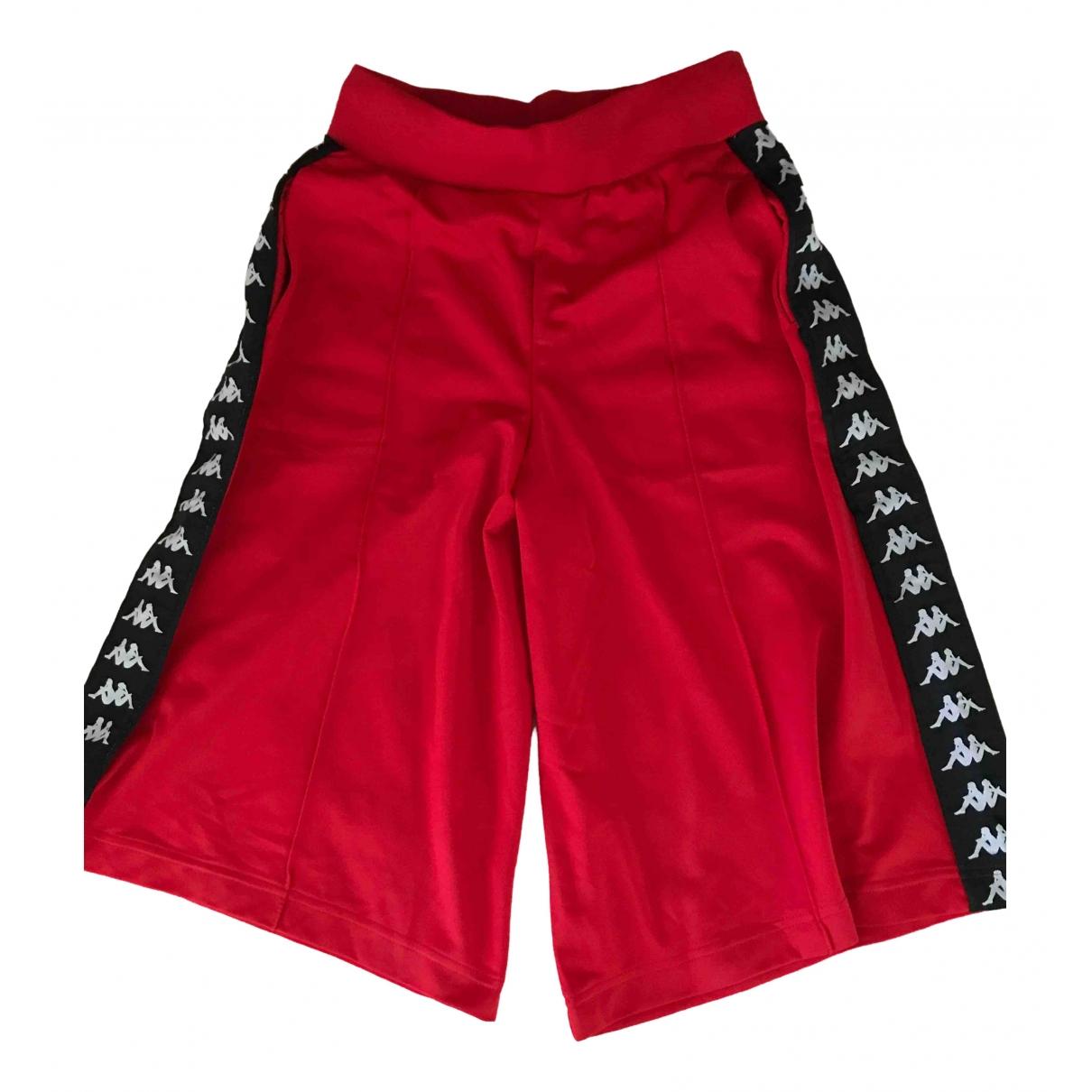 Kappa \N Red Shorts for Women XS International
