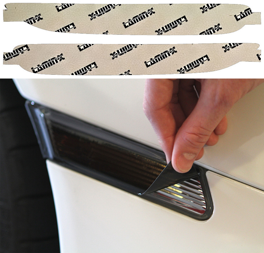 Subaru Forester 17-19 Charcoal Rear Marker Covers Lamin-X S1132C