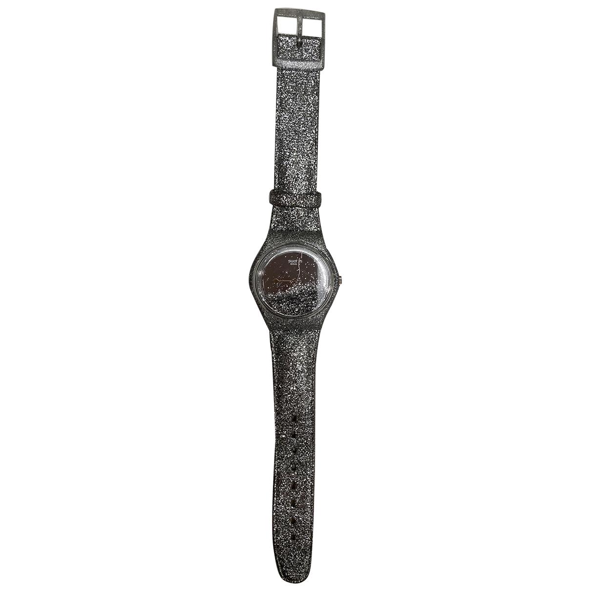 Swatch \N Uhr Silber