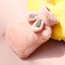 Ear Detail Plush Hot Water Bag