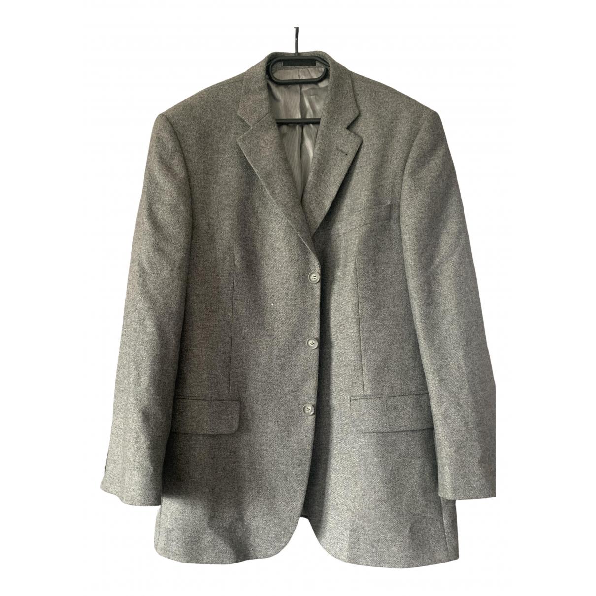 - Manteau   pour homme en cachemire - gris