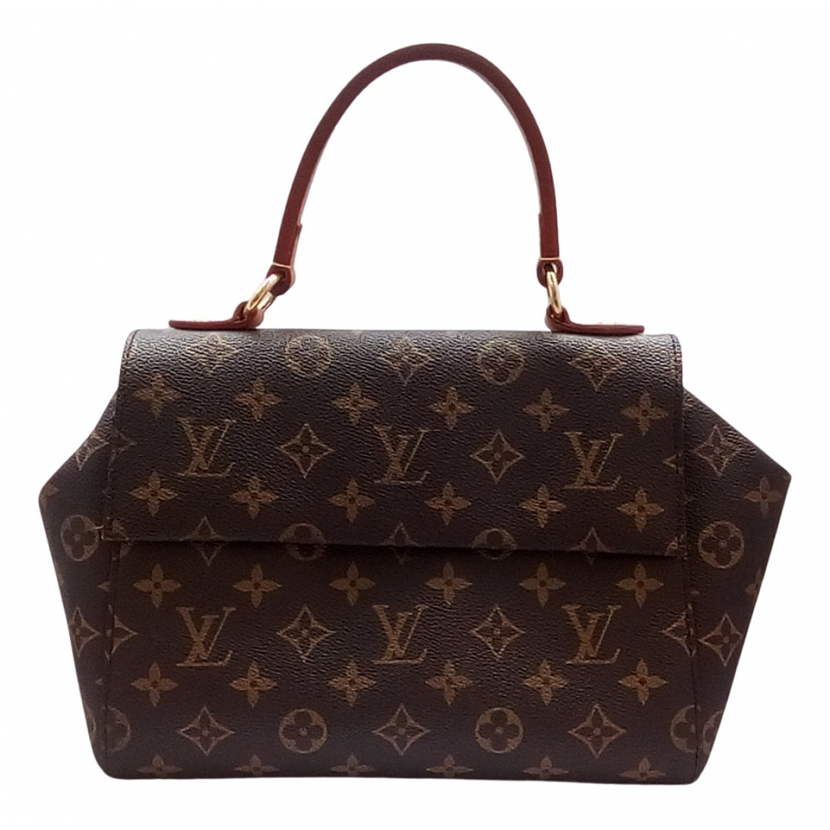 Louis Vuitton Cluny Brown Cloth handbag for Women N