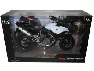 KTM 990 SM-T White/Black Motorcycle Model 1/12 by Automaxx