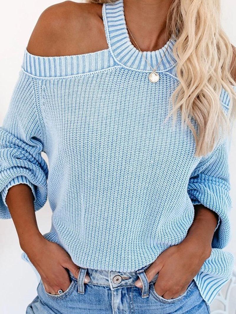 Ericdress Thin Backless Standard Fall Sweater