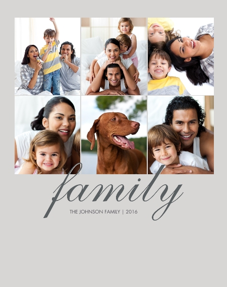 Family 11x14 Wood Panel, Home Décor -Family Classic