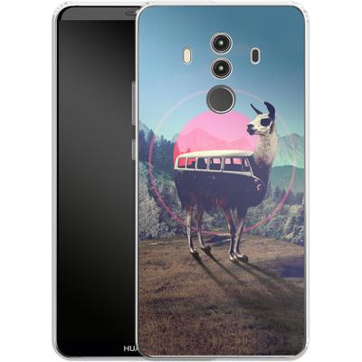 Huawei Mate 10 Pro Silikon Handyhuelle - Llama von Ali Gulec