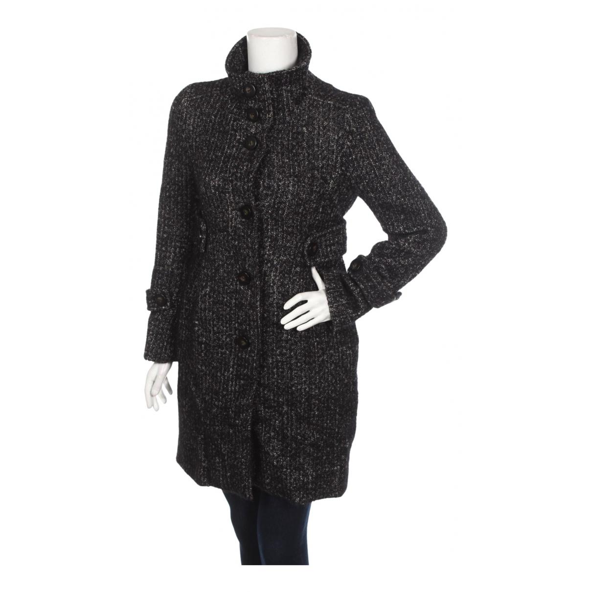 Comptoir Des Cotonniers \N Anthracite Wool coat for Women 38 FR