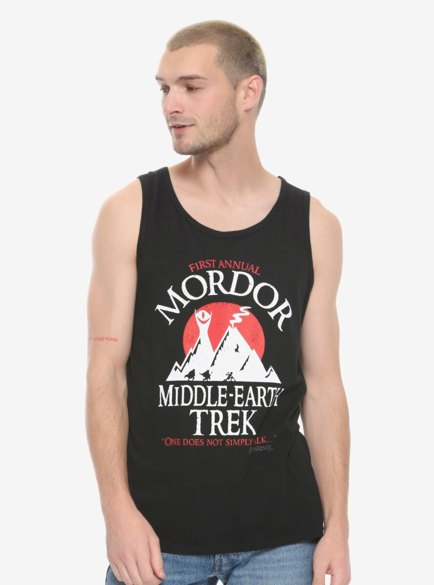 The Lord of the Rings Mordor Run Tank Top