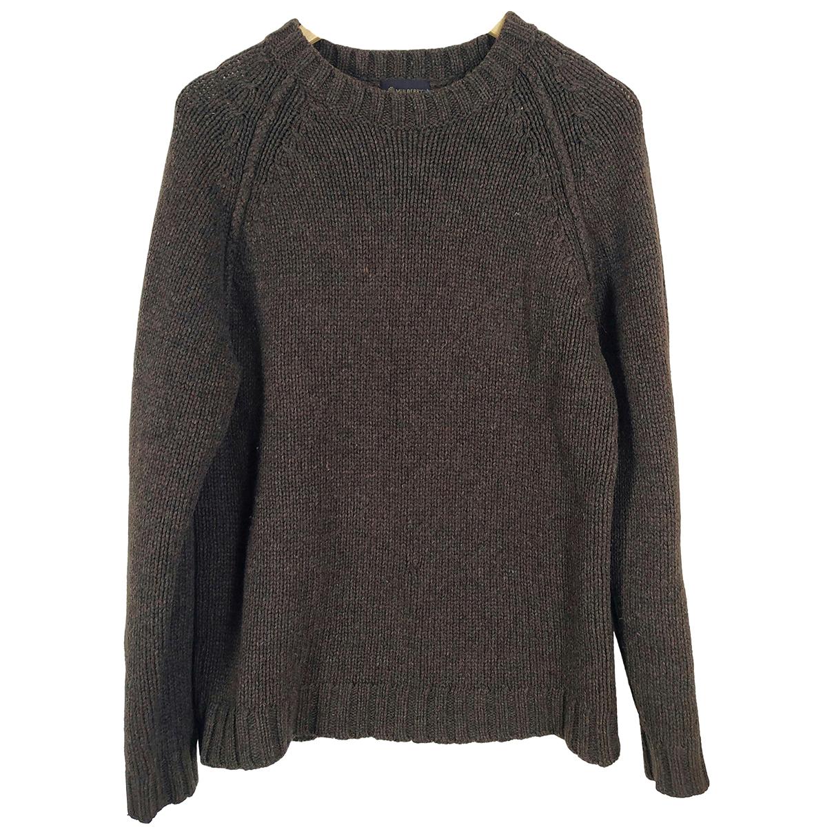 Mulberry - Pulls.Gilets.Sweats   pour homme en laine - marron