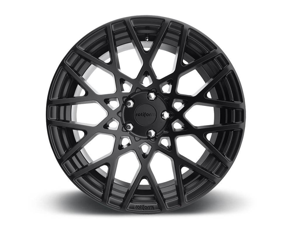 Rotiform R112188565+45 BLQ Matte Black Cast Monoblock Wheel 18x8.5 5x114.3 45mm
