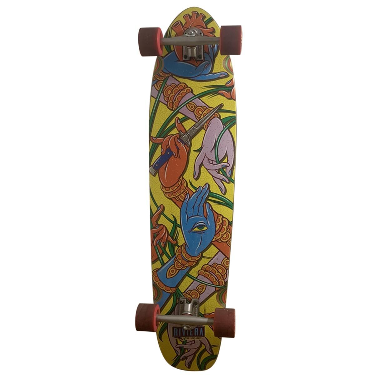 - Glisse   pour lifestyle en bois - multicolore