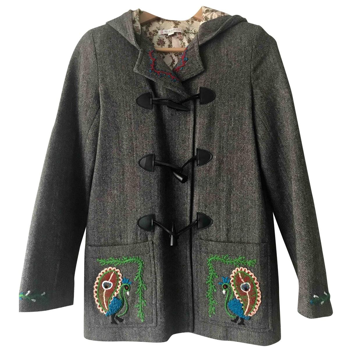 Paul & Joe Sister - Manteau   pour femme en laine - gris