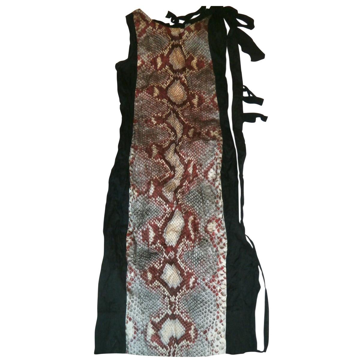 Prada - Robe   pour femme en coton - multicolore