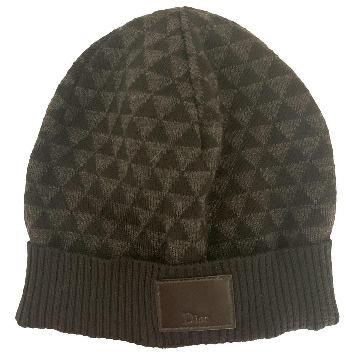 Dior Homme - Chapeau & Bonnets   pour homme en laine - anthracite
