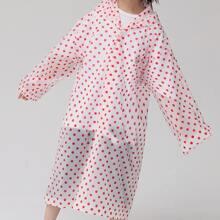 Kids Polka Dot Pattern Raincoat