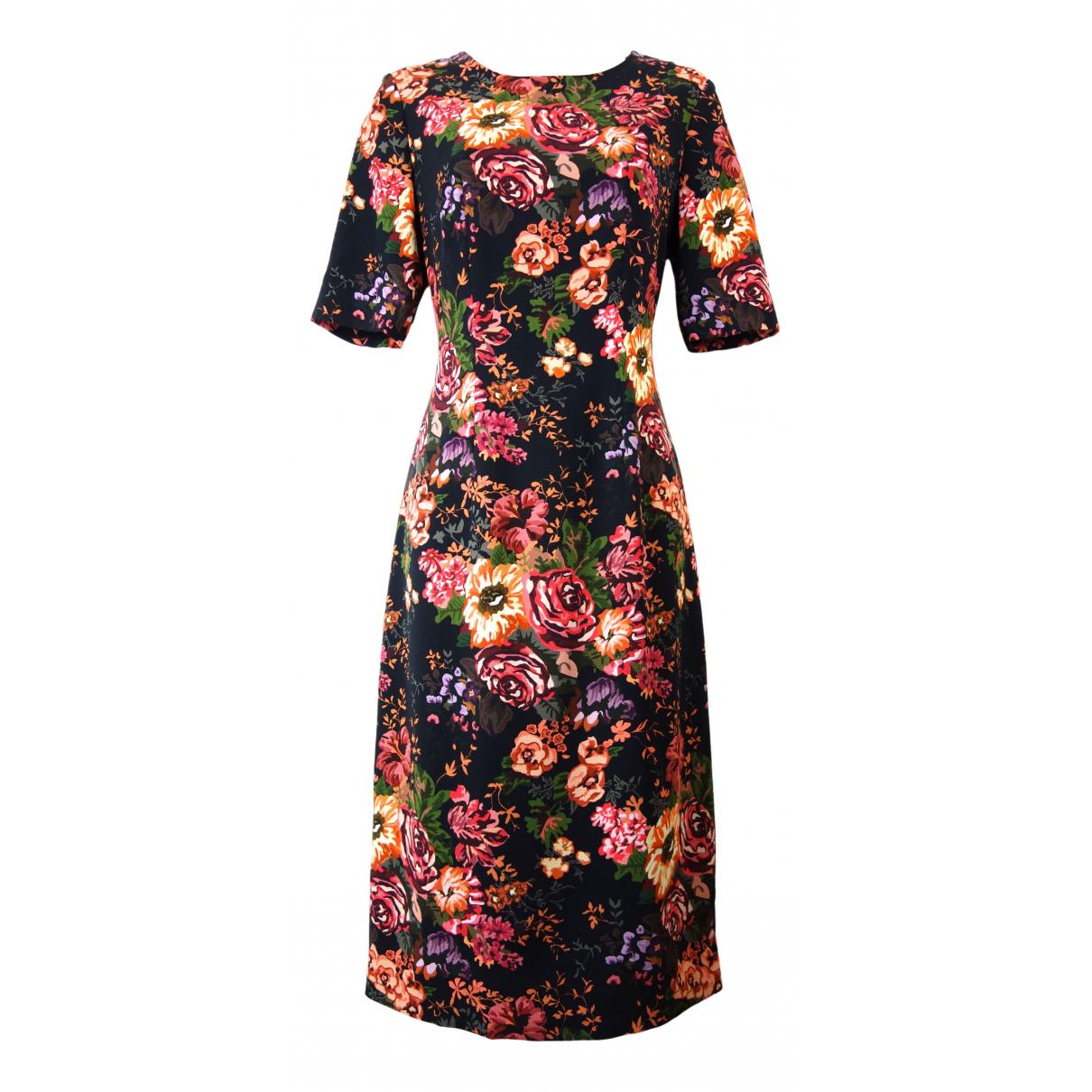 Emilia Wickstead \N Kleid in  Bordeauxrot Polyester