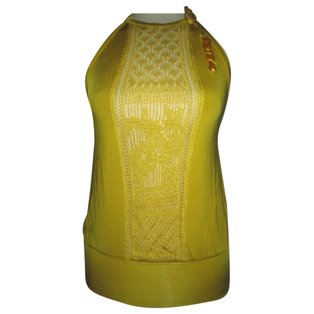 Jean Paul Gaultier - Top   pour femme - jaune