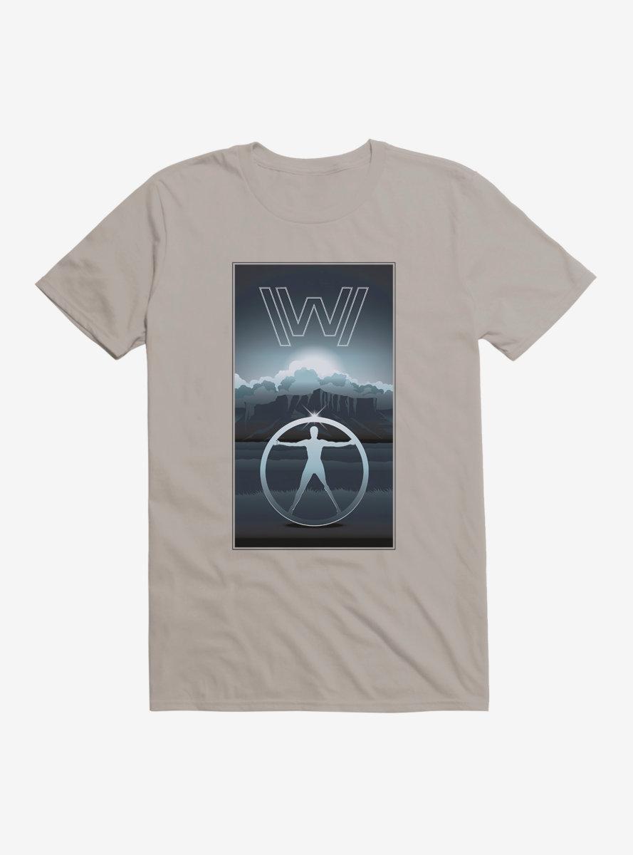 Westworld Grayscale Sunrise T-Shirt
