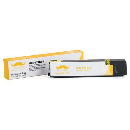 Compatible HP 971XL CN628AM cartouche dencre jaune haute capacite - Moustache@