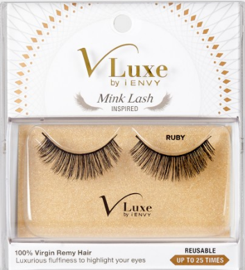 V-Luxe Mink Lash Inspired - RUBY Lashes