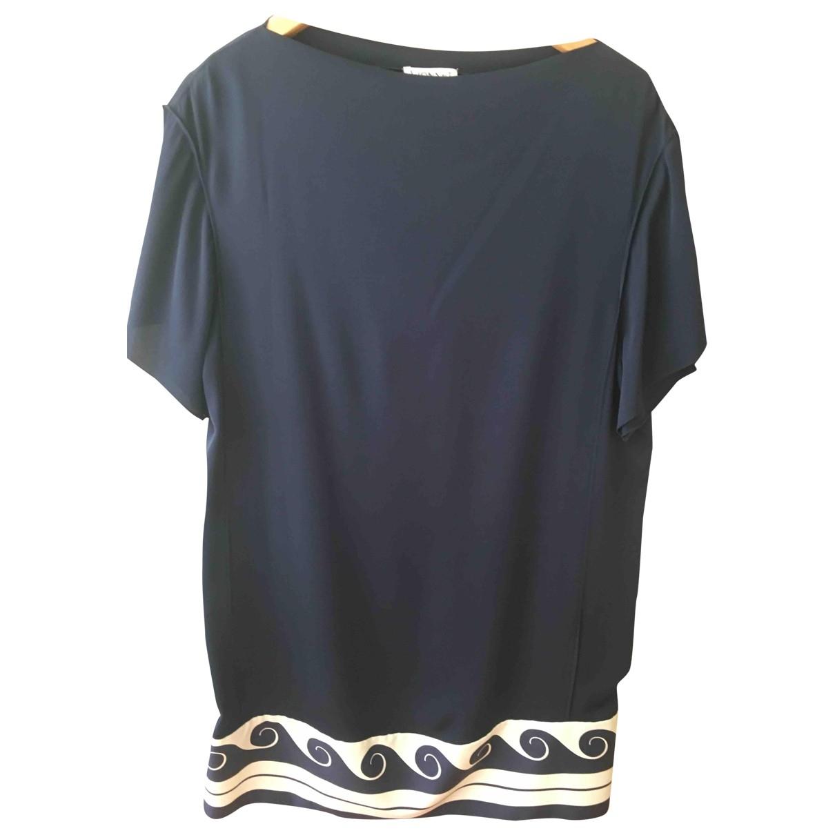 Vionnet - Robe   pour femme en soie - bleu