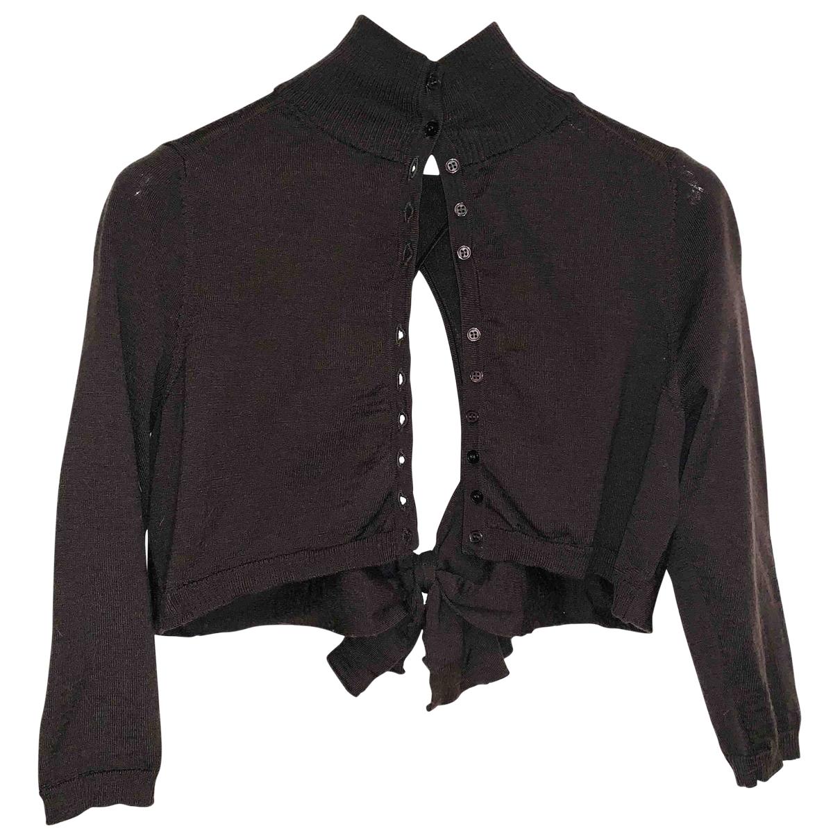 Hoss Intropia - Veste   pour femme en laine - marron