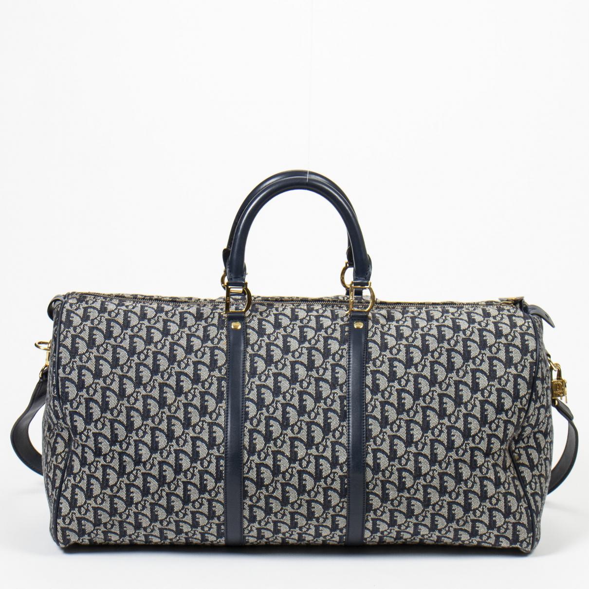 Dior - Sac de voyage   pour femme en coton