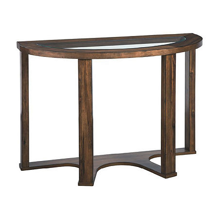 Signature Design by Ashley Hannery Collection Console Table, One Size , Brown